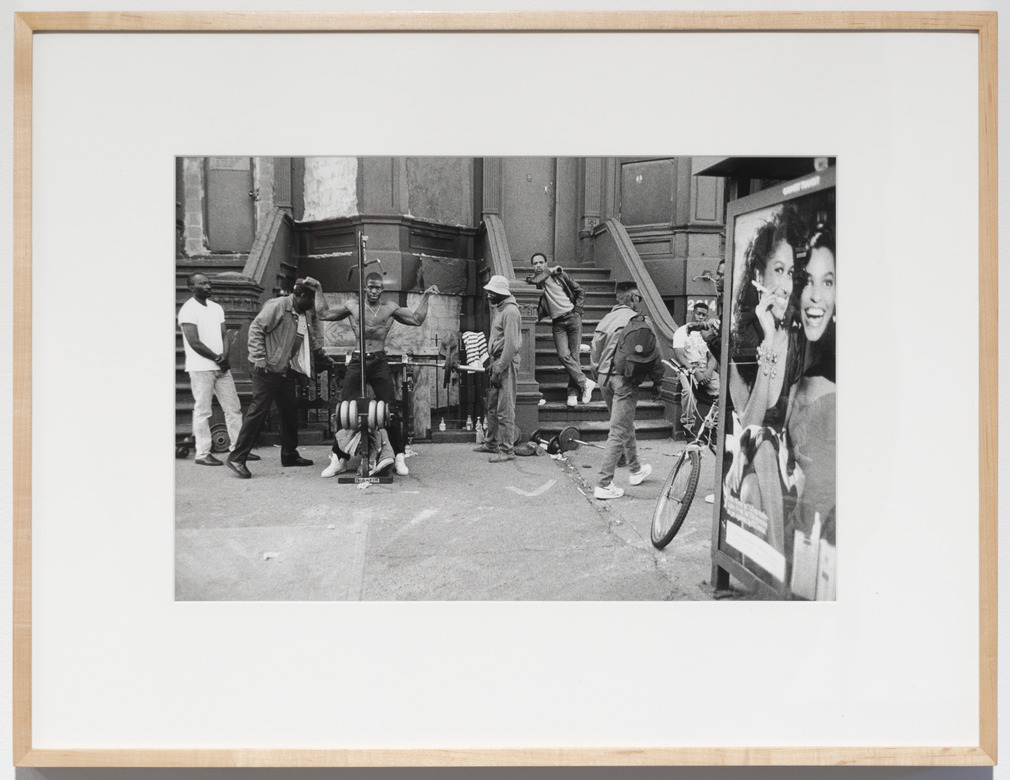 Jules T. Allen - 10 Prints (Cigarette advertisement in bus station with street scene)