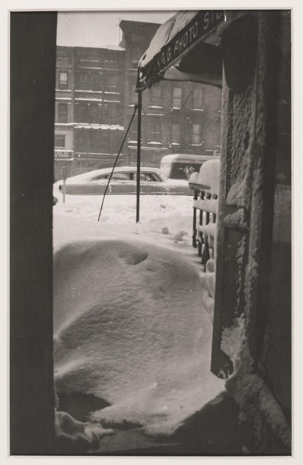 James VanDerZee  - View from the G.G.G. Studio