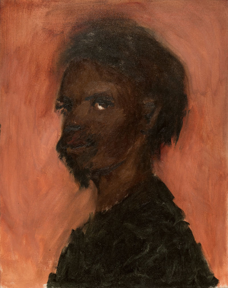 Lynette Yiadom-Boakye, Nous étions, 2007. The Studio Museum in Harlem; Museum purchase made possible by a gift from Pippa Cohen. 2008.17.1