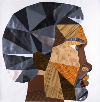 Derrick Adams, Head #4, 2011